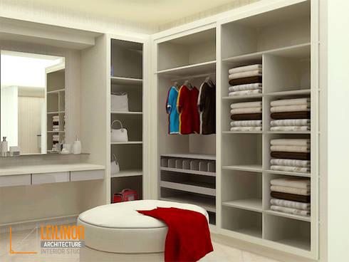 modern Dressing room by CV Leilinor Architect