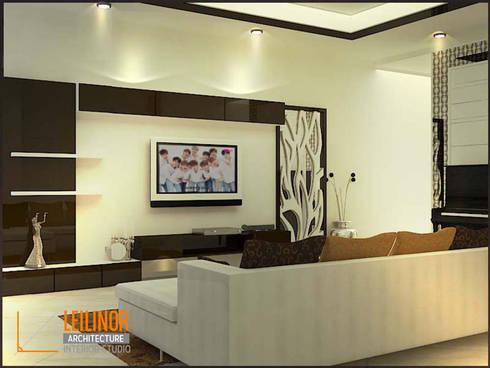modern Living room by CV Leilinor Architect