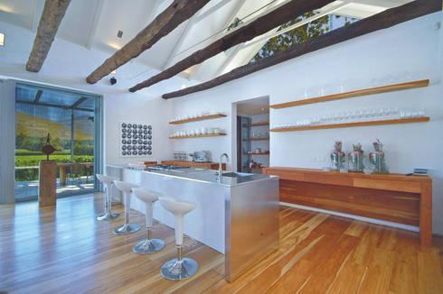 modern Living room by Van der Merwe Miszewski Architects