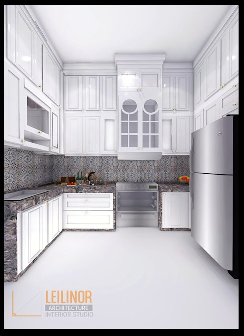 classic Kitchen by CV Leilinor Architect