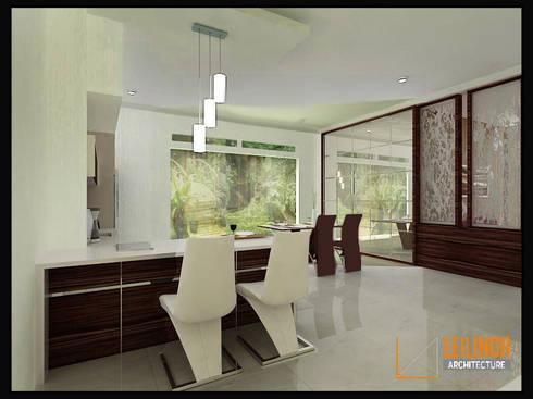 Modern Residential:  Dapur by CV Leilinor Architect