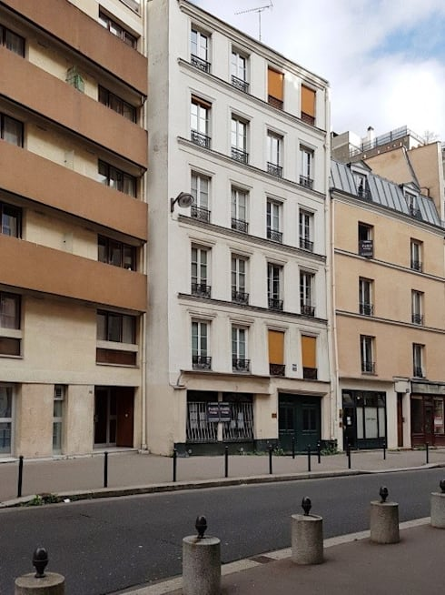 Appartamento a Parigi: Case in stile in stile Rustico di smellof.DESIGN