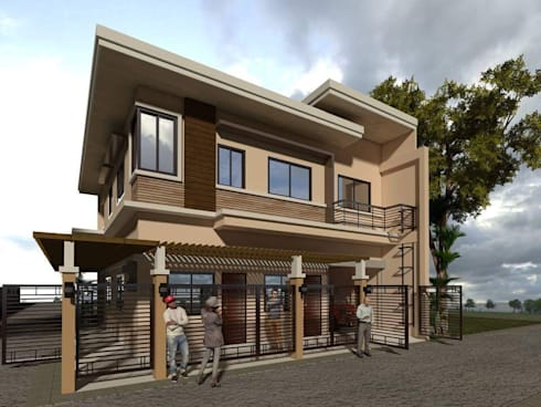 Two (2) Storey Residential-Commercial Building:  Commercial Spaces by Baylon+Sagabaen Architects