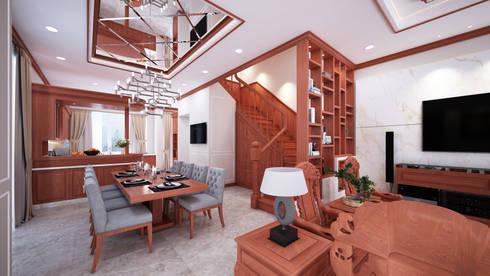 Biệt thự cao cấp chú Phong dự án Lakeview Quận 9:   by Công ty TNHH sửa chữa nhà phố trọn gói An Phú 0911.120.739