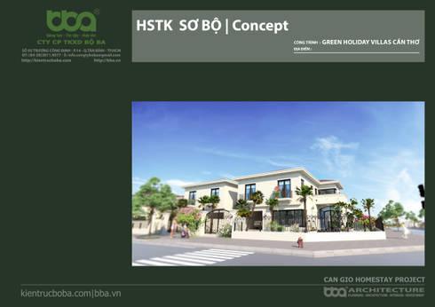 Thiết kế biệt thự Cần Giờ   Can Gio Homestay Project   Kiến trúc bộ Ba:   by Công ty Cổ phần Thiết kế Xây dựng Bộ Ba