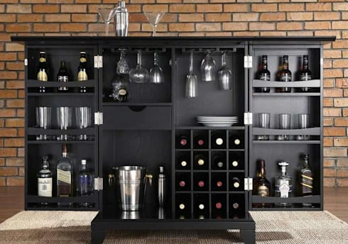 Create Your Own Home & Wine Bars With Collections Wine Cabinets: modern Wine cellar by Perfect Home Bars