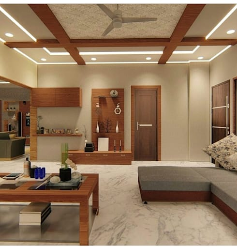 Home Residential : modern Living room by EVEN SIGHTS ARCHITECTS