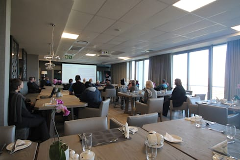 Dining Area Presentation:  Commercial Spaces by Projector & Sound Services (PTY) Ltd
