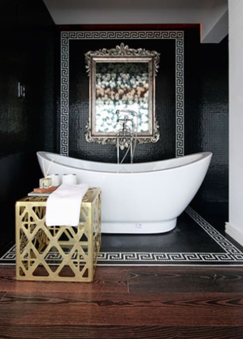 Suites Polanco: Baños de estilo  por All Arquitectura