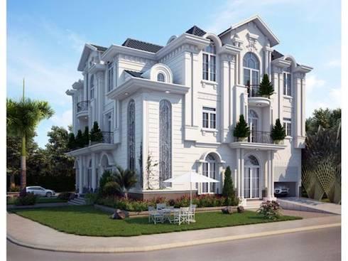Thiết kế biệt thự tân cổ điển:   by Việt Architect Group