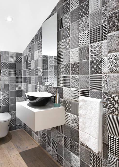 Contemporary Guest Toilet :   by Deborah Garth Interior Design