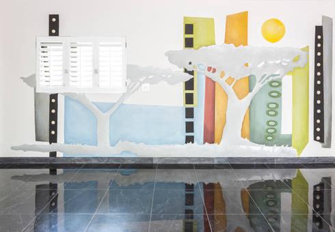 The gallery garage:   by Deborah Garth Interior Design