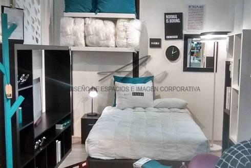 habitación para adultos : Habitaciones de estilo moderno por Sara villa diseño interior