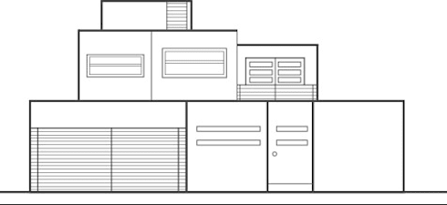Casa KR:  de estilo  por NUV Arquitectura