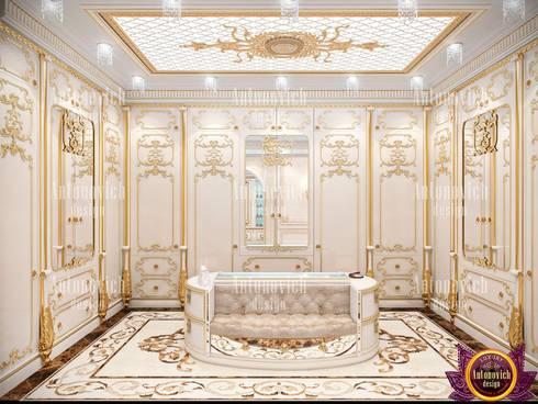 Womanly Interior Design by Katrina Antonovich: classic Dressing room by Luxury Antonovich Design