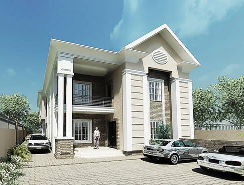 Dahunsi Residence:  Multi-Family house by Peridot Architects