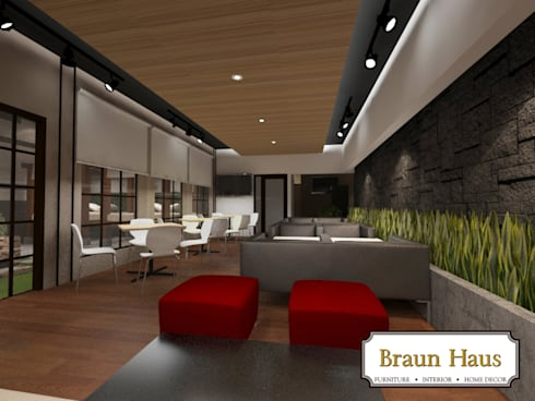 Spa and Massage: modern Spa by Braun Haus