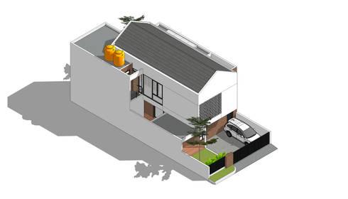 Isometric:  Rumah tinggal  by Rekabentuk ID