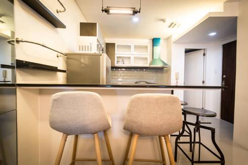 Seibu Tower Project / Golden Forum Land Inc.: minimalistic Dining room by TG Designing Corner