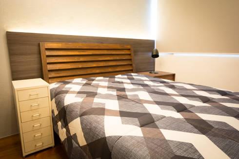 Seibu Tower Project / Golden Forum Land Inc.: minimalistic Bedroom by TG Designing Corner