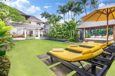 Thiết kế biệt thự vườn đẹp:   by Việt Architect Group