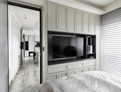 原礦 Calibration:  臥室 by 耀昀創意設計有限公司/Alfonso Ideas