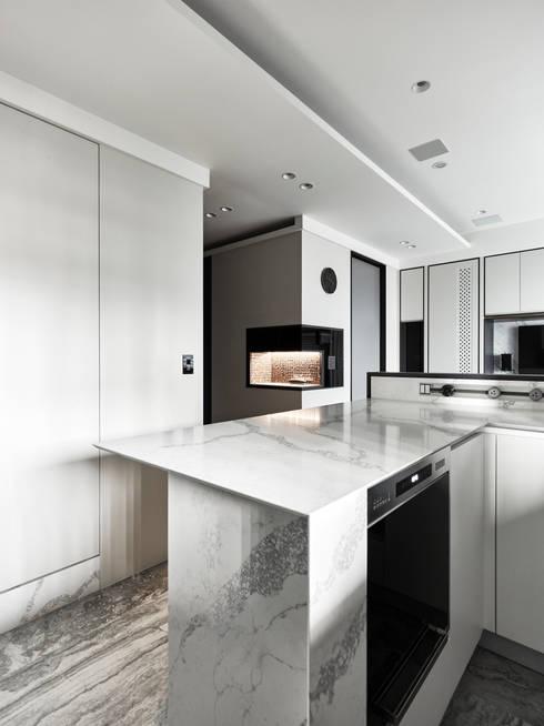 單身女子公寓 原礦 Calibration:  餐廳 by 耀昀創意設計有限公司/Alfonso Ideas