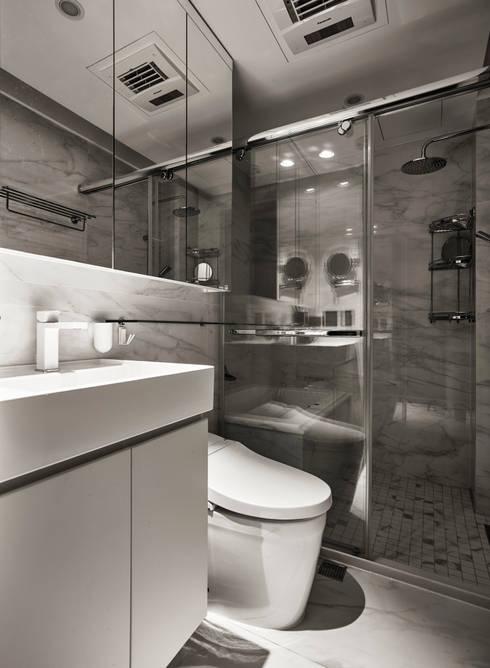 破除:  浴室 by 耀昀創意設計有限公司/Alfonso Ideas