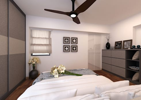 Master Bedroom:  Kamar Tidur by March Atelier