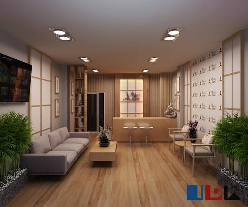 Clinic:  ตกแต่งภายใน by interir design work