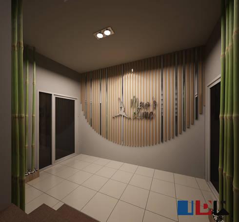 โถง:  ตกแต่งภายใน by interir design work
