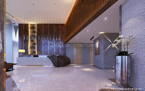Thiết kế khách sạn đẹp đường Võ Văn Kiệt, TP. Đà Nẵng – Stella Maris:   by AVA Architecture