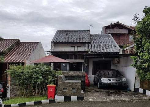 Renovasi rumah di Cluster Panorama Pamoyanan Hijau :   by CV.Emasna Propertindo Sentosa
