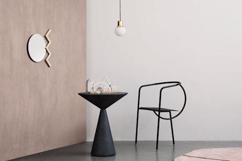 Lola Table:   por HMD Interiors
