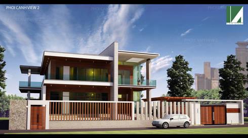 PHỐI CẢNH 2 :   by công ty cổ phần Thiết kế Kiến trúc Việt Xanh