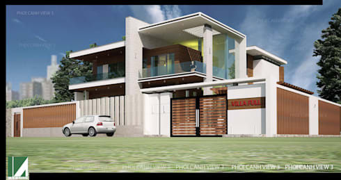 PHỐI CẢNH 3:   by công ty cổ phần Thiết kế Kiến trúc Việt Xanh