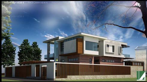 PHỐI CẢNH 4:   by công ty cổ phần Thiết kế Kiến trúc Việt Xanh