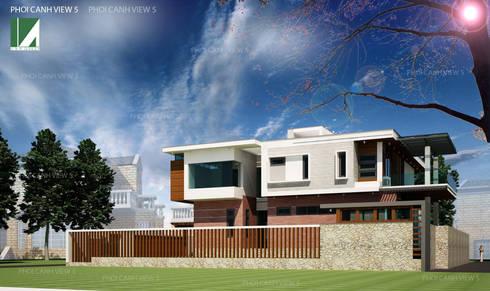 PHỐI CẢNH 5:   by công ty cổ phần Thiết kế Kiến trúc Việt Xanh