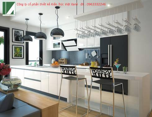 PHỐI CẢNH BẾP :   by công ty cổ phần Thiết kế Kiến trúc Việt Xanh