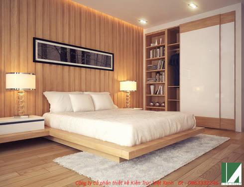 PHỐI CẢNH PHÒNG NGỦ 2:   by công ty cổ phần Thiết kế Kiến trúc Việt Xanh