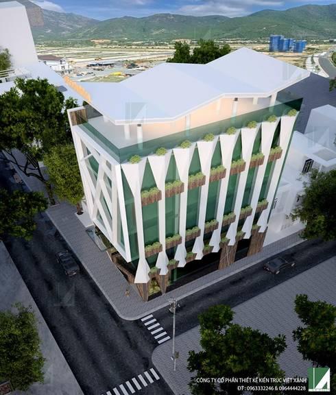 VĂN PHÒNG KHU ĐÔ THỊ HỒNG BÀNG- HẢI PHÒNG :   by công ty cổ phần Thiết kế Kiến trúc Việt Xanh