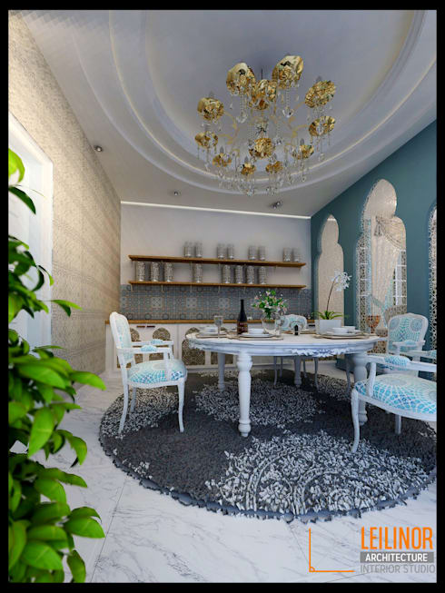 classic Dining room by CV Leilinor Architect