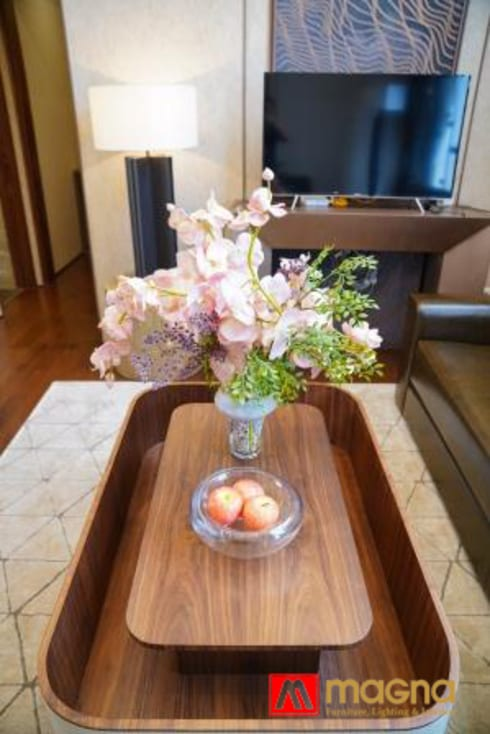 Home modern project: modern Living room by Magna Mulia Mandiri