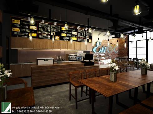 http://thietkehaiphongxanh.vn/p-116/coffee---mong-cai:   by công ty cổ phần Thiết kế Kiến trúc Việt Xanh