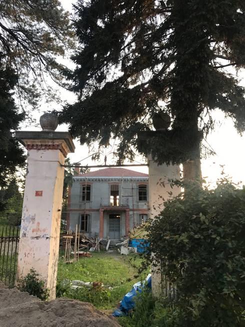Öykü İç Mimarlık – Konak Dışarıdan Görünüş 1:  tarz Müstakil ev