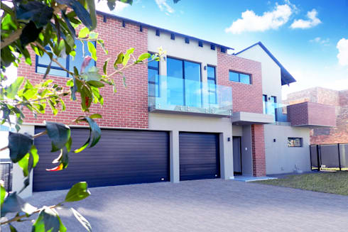 Front of House:  Single family home by TOP CENTRE PROPERTIES GROUP (PTY) LTD