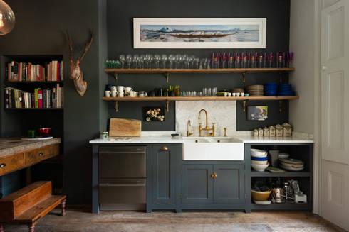 eclectic Kitchen by deVOL Kitchens