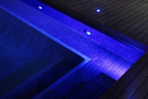 Ebotse Estate: modern Pool by Vision Tribe