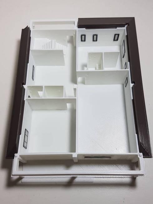107年 西螺黃公館 自地自建-鋼構速固牆  3D模型:   by 懷謙建設有限公司