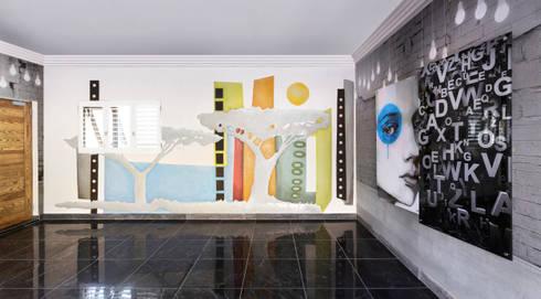 Garage:   by Deborah Garth Interior Design